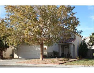 North Las Vegas Single Family Home For Sale: 1912 Badger Canyon Avenue