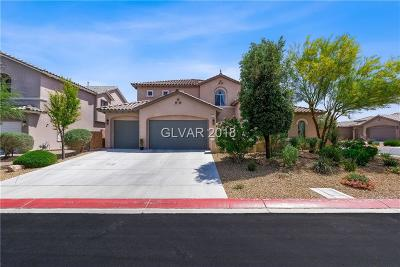 North Las Vegas Single Family Home Contingent Offer: 3917 Marsh Sparrow Lane
