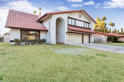 Las Vegas Single Family Home For Sale: 1716 Rambla Court