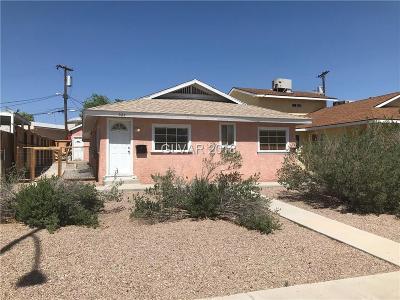 Boulder City Multi Family Home For Sale: 627 Utah Street