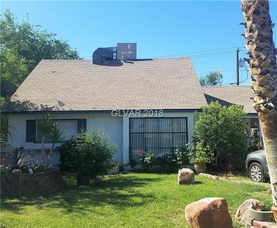 Las Vegas Single Family Home Under Contract - No Show: 2004 Howard Avenue