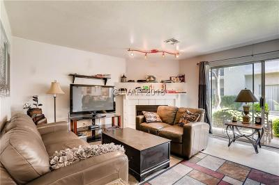 Clark County Condo/Townhouse Under Contract - No Show: 6250 Flamingo Road #105