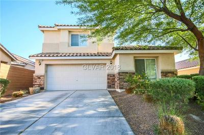 North Las Vegas Single Family Home For Sale: 4620 Silverwind Road