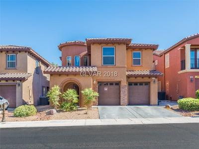 Las Vegas Single Family Home For Sale: 145 Honors Course Drive