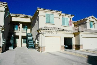 North Las Vegas Condo/Townhouse Contingent Offer: 6640 Abruzzi Drive #103