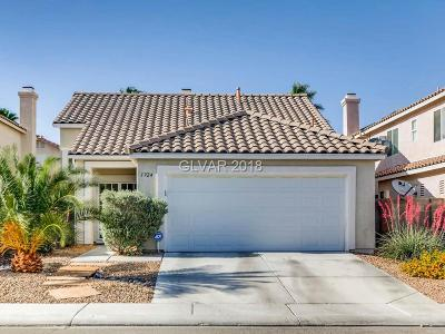North Las Vegas Single Family Home Contingent Offer: 1924 Falling Tree Avenue
