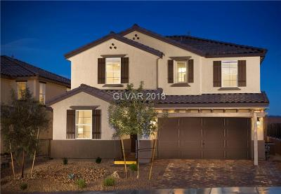 Henderson Single Family Home For Sale: 1058 Bellevue Peak Street #lot 2