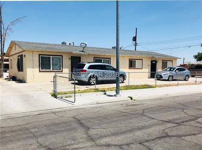 Las Vegas Multi Family Home For Sale: 1202 Cunningham Drive