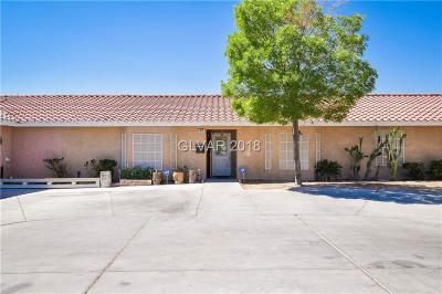 NORTH LAS VEGAS Single Family Home For Sale: 1515 Washburn Road