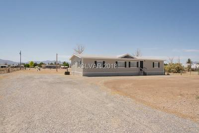 Las Vegas Manufactured Home For Sale: 5230 South Bonnie