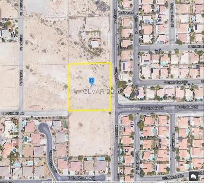 Las Vegas Residential Lots & Land For Sale: 7675 Amigo Street