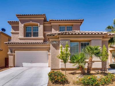 North Las Vegas Single Family Home For Sale: 2225 Mountain Rail Drive