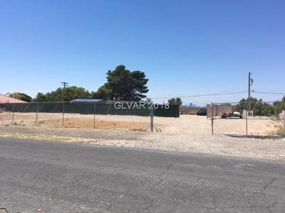 Las Vegas Residential Lots & Land For Sale: 295 Clayton Street