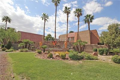 Las Vegas NV Condo/Townhouse For Sale: $134,900