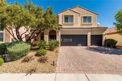Henderson Single Family Home For Sale: 3660 Via Fatina Avenue