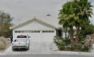 North Las Vegas Single Family Home Contingent Offer: 504 Rancho Del Sol Way