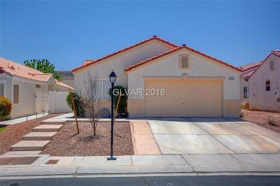 North Las Vegas Single Family Home Contingent Offer: 635 Regal Robin Way