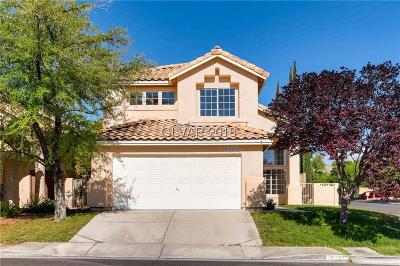 Las Vegas Single Family Home For Sale: 2437 Twin Flower Circle