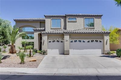 Henderson NV Single Family Home Under Contract - No Show: $505,000