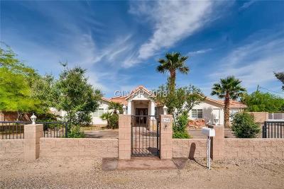 Las Vegas Single Family Home For Sale: 7760 Haven Street