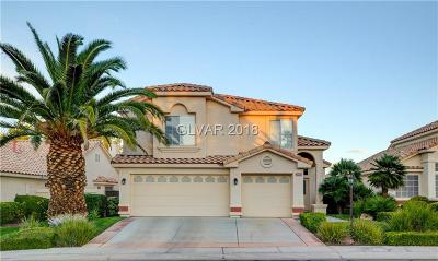 Las Vegas Single Family Home For Sale: 1404 Premier Court