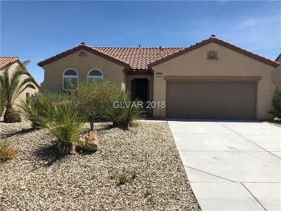 Henderson Single Family Home Contingent Offer: 2270 Sandstone Cliffs Drive