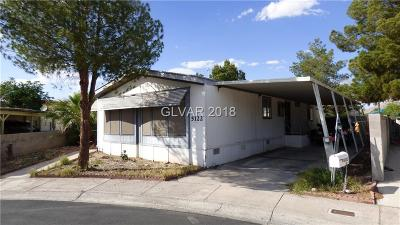 Las Vegas Single Family Home Contingent Offer: 5122 Wasatch Lane
