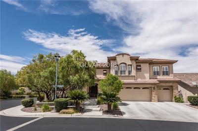 Las Vegas Single Family Home For Sale: 10744 Weather Top Court