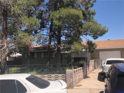 Las Vegas Single Family Home Under Contract - No Show: 4972 Saratoga Circle