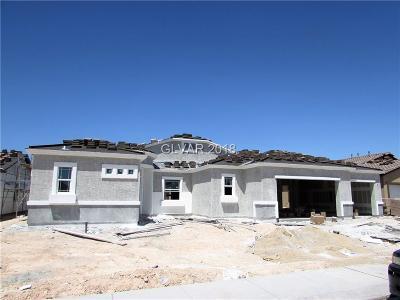 Las Vegas Single Family Home For Sale: 7085 Winstar Street #LOT 37