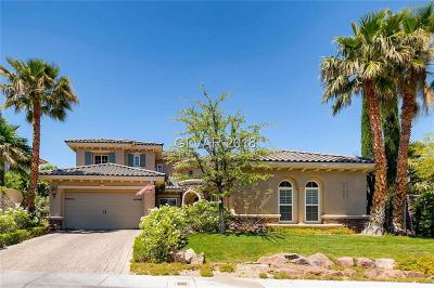 Red Rock, Red Rock Cntry Club At Summerl Single Family Home For Sale: 11416 Morning Grove Drive