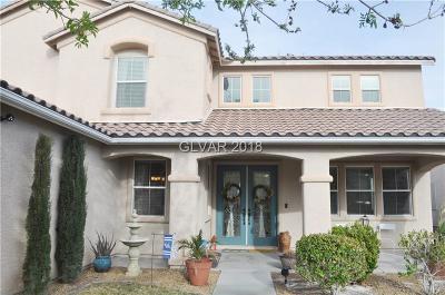 Las Vegas Single Family Home For Sale: 7866 Flat Creek Street