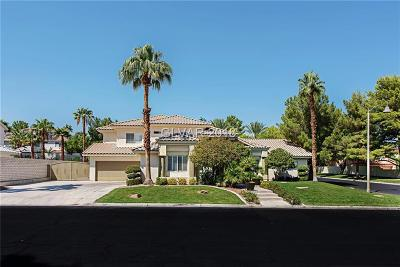 Las Vegas Single Family Home For Sale: 9900 Cozy Glen Circle