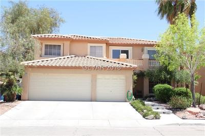 Las Vegas Single Family Home For Sale: 9674 Summer Lilac Court