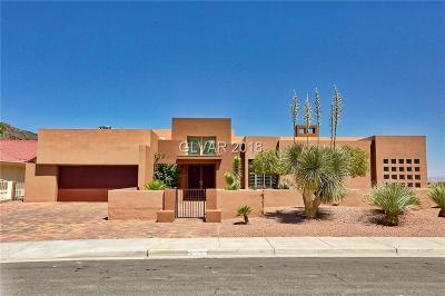 Boulder City NV Single Family Home For Sale: $799,900