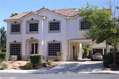 Henderson NV Single Family Home For Sale: $572,000