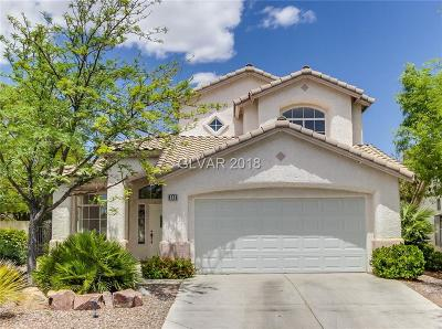 Las Vegas NV Single Family Home For Sale: $327,000