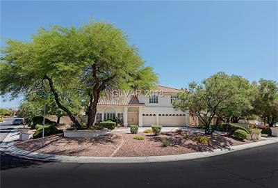 Las Vegas Single Family Home For Sale: 8378 Hidden Crossing Lane