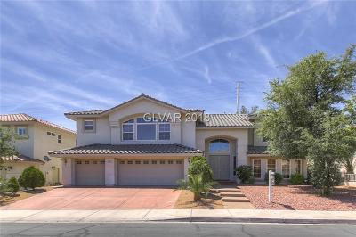 Henderson Single Family Home For Sale: 2437 Tour Edition Drive