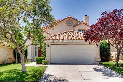 Las Vegas Single Family Home Contingent Offer: 9417 Amber Valley Lane