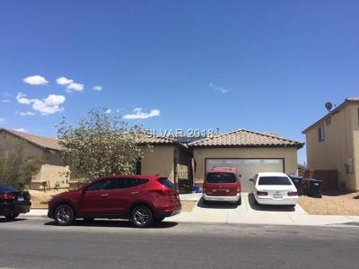 North Las Vegas Single Family Home For Sale: 5028 Ferrell Street