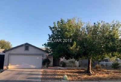 North Las Vegas Single Family Home For Sale: 2515 Nobility Avenue