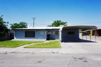 North Las Vegas Single Family Home For Sale: 1909 Gifford Street