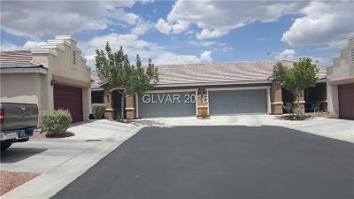 Las Vegas Condo/Townhouse For Sale: 5342 Golden Barrel Avenue