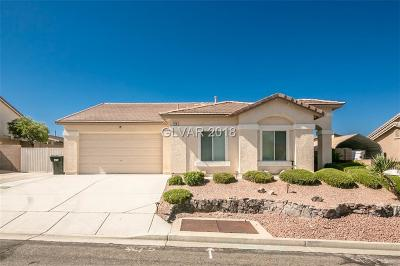 Laughlin NV Single Family Home For Sale: $204,900