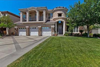 Las Vegas Single Family Home For Sale: 305 Prince Charming Court