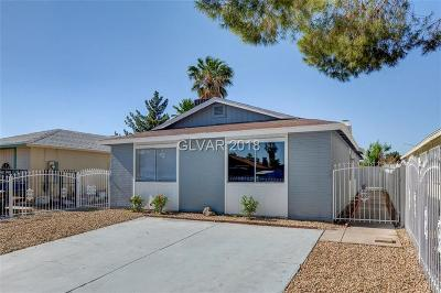 Las Vegas Single Family Home For Sale: 4520 Cool Valley Drive