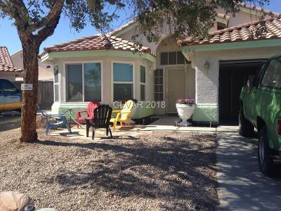 North Las Vegas Single Family Home For Sale: 526 Rio Largo Way