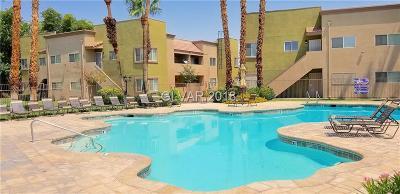Las Vegas NV Condo/Townhouse For Sale: $119,000