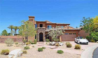 Henderson NV Single Family Home For Sale: $750,000
